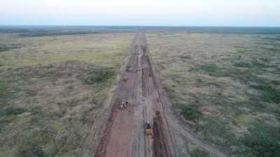 Se conectó comunidades olvidadas del Chaco con estratégica obra vial