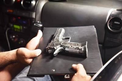 Con pistola de juguete intentaron asaltar a un playero en Ñu Guasu •