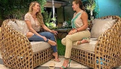 Marly Figueredo habló de la grata visita que recibió