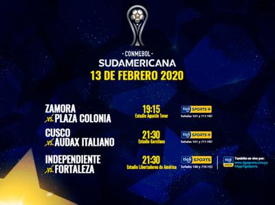 Se cierra la ida de la primera fase de la Sudamericana
