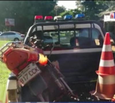 Cae presunto motochorro que cometió doble asalto en Ciudad del Este