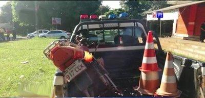 Detienen a presunto motochorro que cometió doble asalto