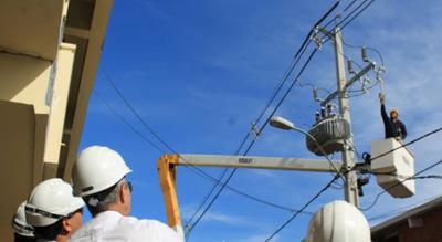 Para esta tarde ANDE anuncia cortes de energía en Asunción y Central