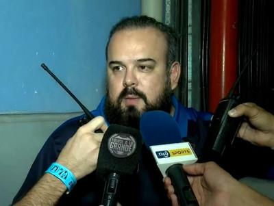 Ariel Martínez expone la propuesta de Cerro para las siguientes fechas