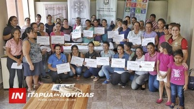 SENTIMIENTOS, SABORES Y SABERES LLEGÓ A SAN COSME ORGANIZADO POR LA GOBERNACIÓN DE ITAPÚA