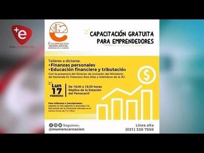 SECRETARÍA DE LA JUVENTUD DE ENCARNACIÓN OFRECE CAPACITACIÓN GRATUITA PARA EMPRENDEDORES.
