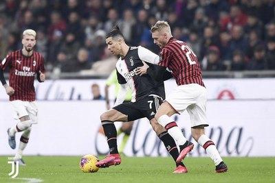 Juventus logra valioso empate ante Milan en semifinal de la 'Coppa'