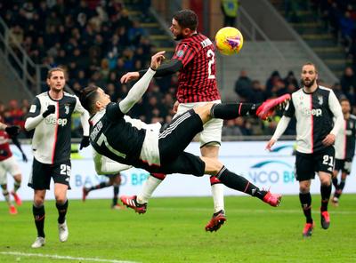 Cristiano evita la caída de la Juventus
