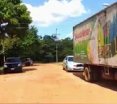 Coronel Oviedo: Exempleado asalta a camión transportador de productos