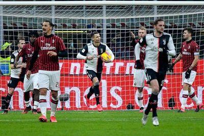 Cristiano da a la Juve un empate ante el Milan