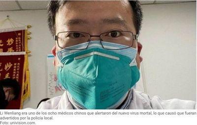 Muere el médico chino que alertó sobre el coronavirus