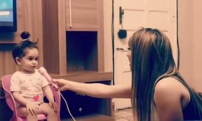 El tierno video de Melody, hija de Marilina y Will