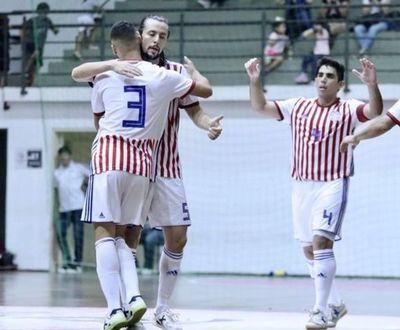 La Albirroja de Futsal derrota a Uruguay
