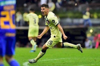 Richard Sánchez anota su primer gol en México