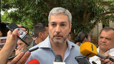 """Mario Abdo desconoce decisión del Senado: """"Creo que ya se declaró emergencia ¿O no?"""""""