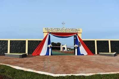 Inauguran cementerio en Campo 9