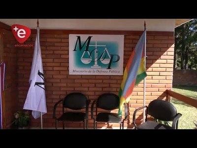 MINISTERIO DE LA DEFENSA PÚBLICA HABILITA LOCAL EN OBLIGADO