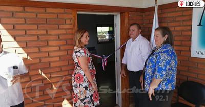 Ministerio de la Defensa Pública inauguró nueva sede en Obligado