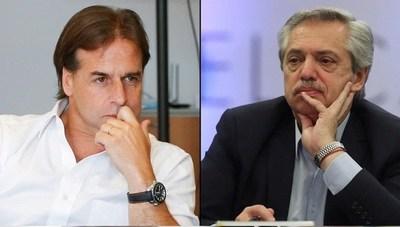 Presidente de Argentina puso en duda asistencia a asunción de Lacalle Pou