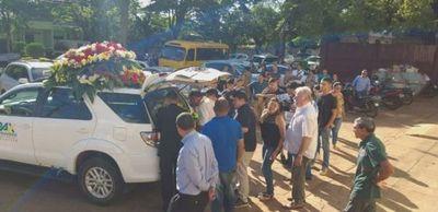 Dieron el último adiós a periodista brasileño asesinado
