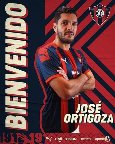Cerro presentó a José Ortigoza