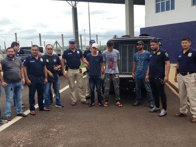 Expulsan de territorio paraguayo a tres brasileños