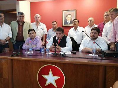 Seccionaleros juntaran firmas para reelección de Mario Abdo