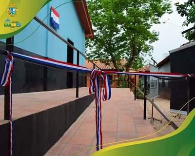 Inauguran Pabellón de Educación Especial en la Escuela Jose Maria Fariña