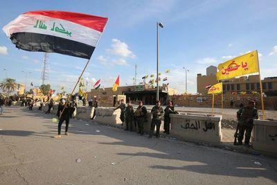 Tres cohetes caen cerca de la embajada de EEUU en Irak