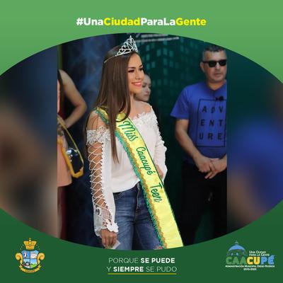 Entrega de premios Miss Caacupé 2019