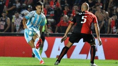 Una gran corrida y asistencia de Matías Rojas para el gol de Racing