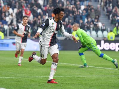 Con goles de Dybala y Cuadrado triunfa Juventus