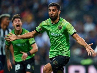 El gol de Maxi Olivera para el Juárez