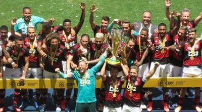 Flamengo vence al Atlético Paranaense y gana su primer título del 2020