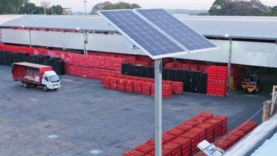 Coca-Cola instala paneles solares en su planta para ser más sustentable