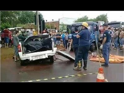 JOVEN FALLECE EN APARATOSO ACCIDENT