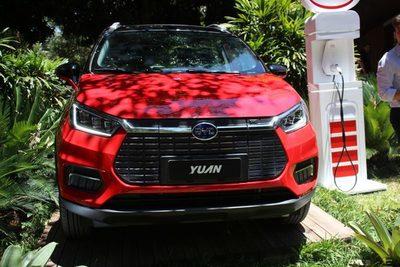 Llega al país Yuan: una SUV 100% eléctrica