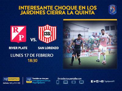 River Plate y San Lorenzo van por el despegue