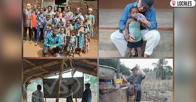 Docente Itapuense volverá a Paraguay después de tres meses de misión en África