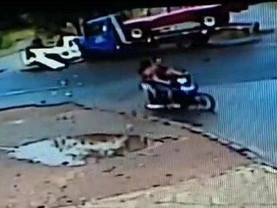 Fallece otra víctima de accidente en Coronel Oviedo