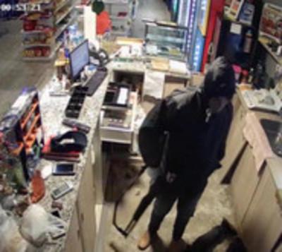 Violento asalto a gasolinera de San Lorenzo
