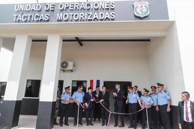 Policía Nacional inaugura instalaciones para alojamiento y entrenamiento adecuado del Grupo Lince