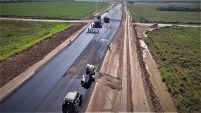 Loma Plata: Para fin de febrero esperan culminar 28 kilómetros de ruta Bioceánica