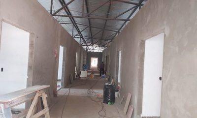 Avanzan obras del pabellón materno infantil de Santa Rita
