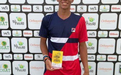 Martín Vergara se consagra campeón en Brasil, y representará a Sudamérica en la Gira Europea
