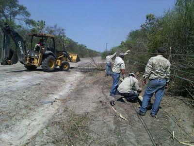 Calor extremo y sin electricidad en el Chaco