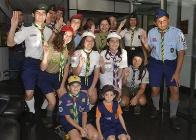 La comunidad scout inculca valores al grito de ¡Siempre listo!