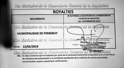 Se realiza Rendición de Cuentas en la Ciudad de Piribebuy