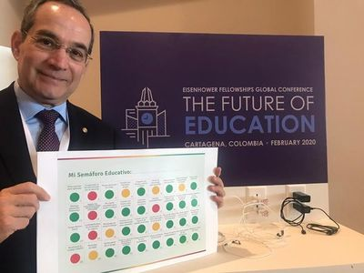 """""""Semáforo educativo"""", propuesta paraguaya en conferencia internacional"""