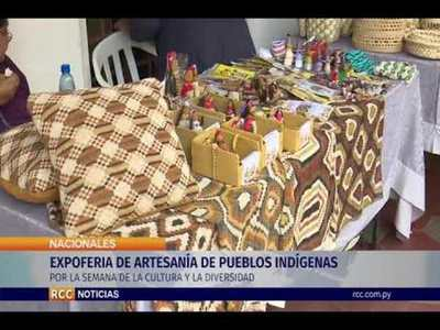 EXPOFERIA DE ARTESANÍA DE PUEBLOS INDÍGENAS DEL PARAGUAY